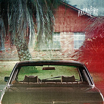 "Album art for ""The Suburbs"" by the Arcade Fire"
